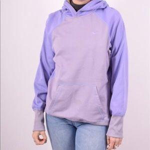 Nike Purple Dri-Fit Hoodie